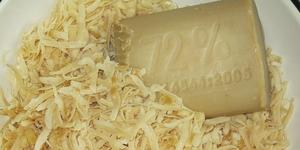 Как сделать жидкое хозяйственное мыло из твердого