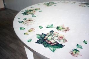 delat_dekupazh_stola Декупаж кухонного стола своими руками и оформление стен на кухне
