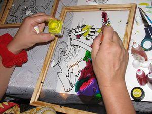 akrilovye_kraski_risovaniya Краски для рисования (41 фото): какие бывают виды, выбираем на воде и масле, а также наборы, краски для рисования мелом на ткани, стенах и стекле