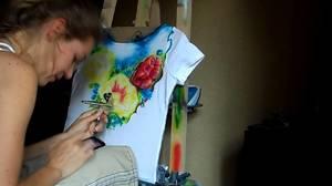 ispolzovat_akrilovye_kraski Краски для рисования (41 фото): какие бывают виды, выбираем на воде и масле, а также наборы, краски для рисования мелом на ткани, стенах и стекле