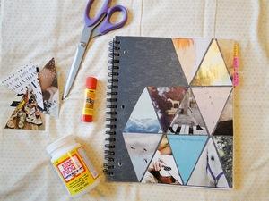 Выбор материалов создания дневника