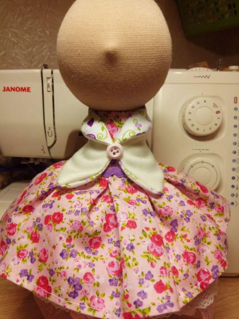 Схема пошива куклы