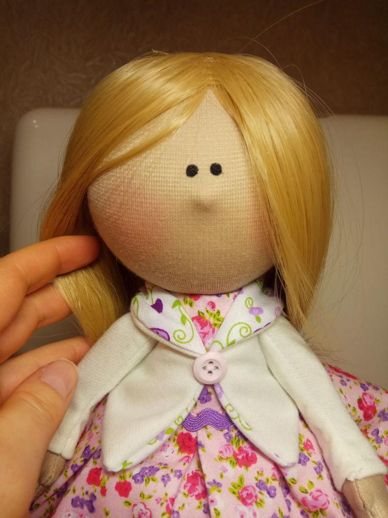 Дизайн куклы тильда