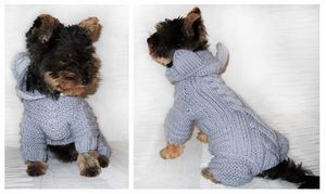 vyazanie_spicami_sobak_melkih Поиск на Постиле: вязание спицами для собак