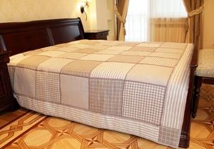 sshit_pokryvalo Как сшить покрывало на кровать своими руками пошаговая инструкция. Как сшить покрывало своими руками.