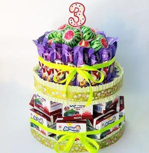 bashnya_princessy Подарки из конфет к любому празднику. Идеи с подробными фото