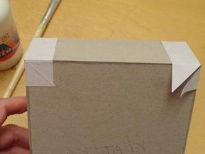 Способы обклеивания коробки