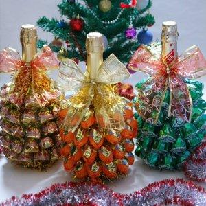 Как сделать елку из конфет своими руками