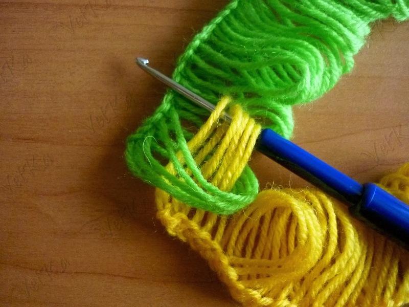 Вязание в стиле брумстик