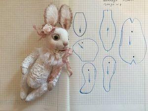 vykroyka_zaycev_teddi Выкройка зайца: как сшить игрушку с длинными ушами
