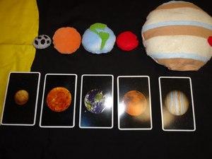 material_podelki Макет солнечной системы своими руками: пошаговые МК с фото и видео-уроками