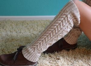 vyazat_getry_spicami Гетры спицами - описание и схемы вязания с фото для начинающих девочек