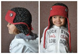 Вязаная шапка для мальчика спицами на зиму