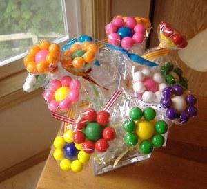 sdelat_yabloko_konfet_svoimi Топиарий из конфет. Сладкий топиарий: дерево, яблоко, букет и часы из конфет