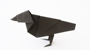 ptichka_origami_shema Оригами птица из бумаги для детей 7-8-9 лет пошагово с фото