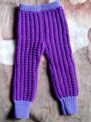 Вязание детских штанишек спицами схемы