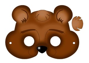 populyarnye_tipy_masok Маска медведя как сделать. Маска медведя и мыши своими руками: выкройки