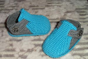 besshovnye_tapochki_malysham Следки спицами для начинающих, 14 моделей для вязания, Вязание для детей