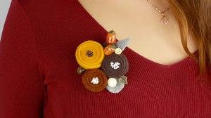 broshi_fetra Цветок из фетра для броши или заколки. Мастер-класс с пошаговыми фото