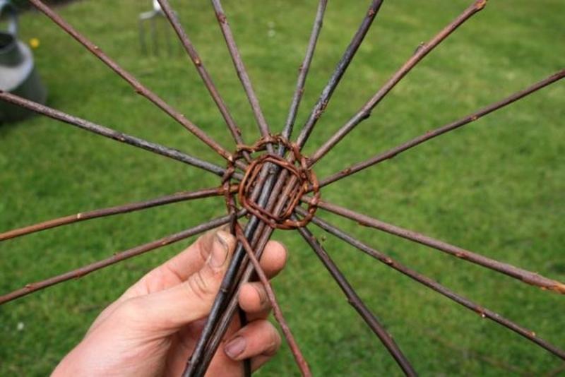 Технология плетения корзины
