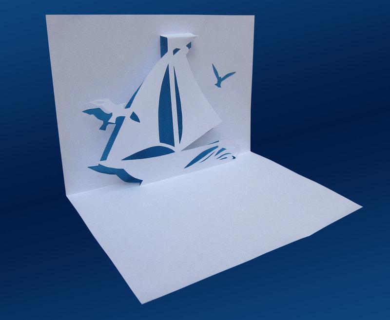История возникновения киригами