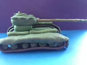 sdelat_voennyy_tank_plastilina Как сделать танк т-34 из пластилина: танк тигр, ис 7 и ис5 поэтапно с фото