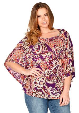 bluzon-tunika_polnyh Туники для полных женщин: актуальные фасоны и модели, выкройки одежды 54 и 56 размера для начинающих