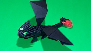 bumazhnyy_drakon_moduley Оригами дракон: как сделать поделку из бумаги, легкие схемы для начинающих