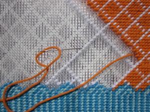gobelenovyy_shov_vyshivke Оригинальный гобеленовый шов в вышивке крестом: 4 особенности техники