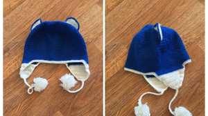 shapki_ushkami Детская шапка крючком: схема и описание шапки с ушками