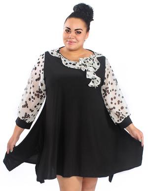 tuniki_polnyh_zhenschin Туники для полных женщин: актуальные фасоны и модели, выкройки одежды 54 и 56 размера для начинающих