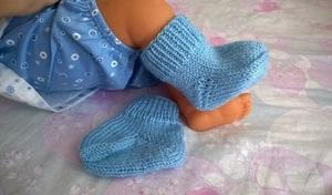nosochki_spicami_malyshey Как связать детские носки? Красивые детские носочки своими руками.