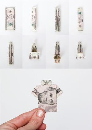 shema_origami Как сделать рубашку из денег, оригами рубашка из денег, как сделать рубашку из купюры и как сделать рубашку с галстуком