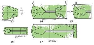 tretiy_etap_sborki Как сделать рубашку из денег, оригами рубашка из денег, как сделать рубашку из купюры и как сделать рубашку с галстуком