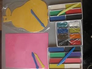 Инструменты и материалы для лепки
