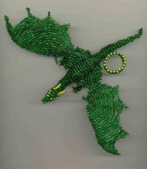 drakon_bisera Как сплести дракона из бисера: схема как сделать брелок своими руками (с фото-инструкцией пошагово)