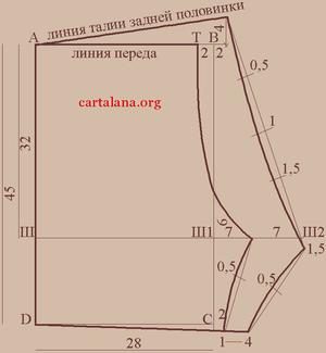 Выкройка мужских трусов 52 размер