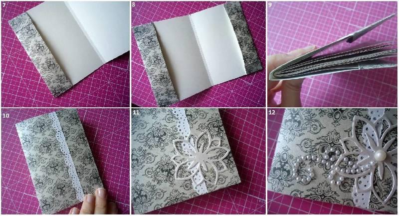 Создание блокнота своими руками: простой мастер-класс