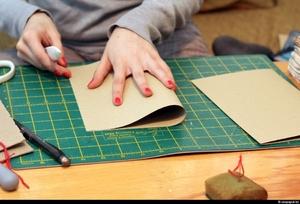 Мастер класс для начинающих по созданию блокнота своими руками