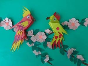 master-klassy_sozdaniyu Как сделать птичку своими руками: мастер-класс по поделкам из бумаги, простые схемы оригами