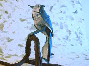 detalizirovannaya_ptica Как сделать птичку своими руками: мастер-класс по поделкам из бумаги, простые схемы оригами