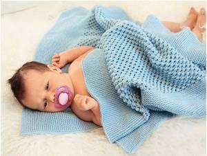 mozhno_svyazat_pled Как связать детский плед спицами или крючком: описание с видео
