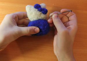 podgotovit_material_valyaniya Валяние из шерсти сухое и мокрое — технология, инструменты и выбор шерсти для валяния