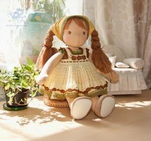 Как пошить тряпичную куклу
