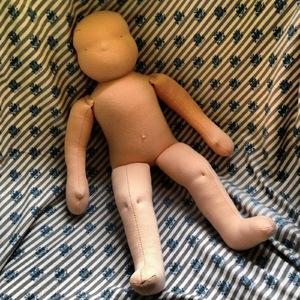 Пошаговое изготовление вальдорфской куклы