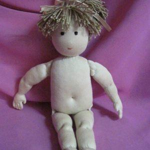 Строение тело вальдорфской куклы