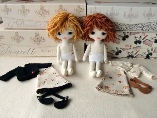 Изготовление каркасной куклы своими руками. Мастер 74