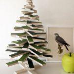 Белая новогодняя елка из фетра своими руками в пошаговом мастер-классе