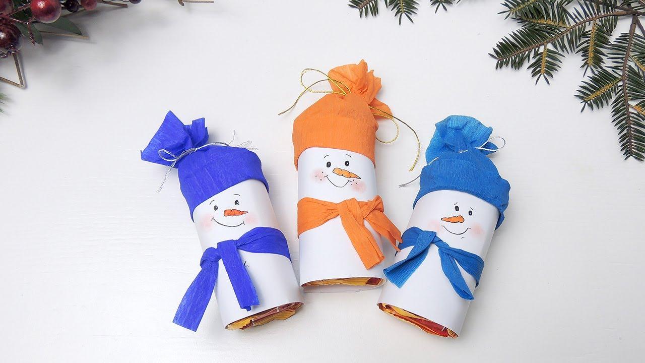 Сделать снеговика своими руками видео фото 352