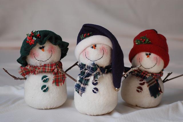 Снеговик своими руками видео фото 499